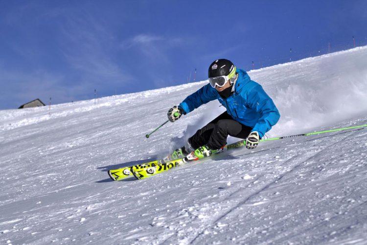 Piste Skiing