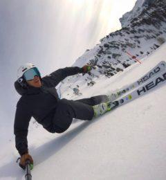 Sebastiano Skiing Megeve