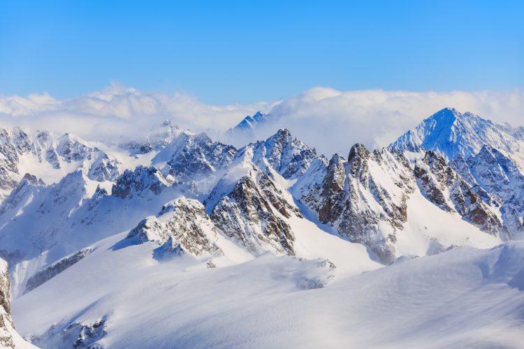 Chamonix Winter Skiing