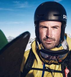 Ski Instructor Teaching In Chamonix
