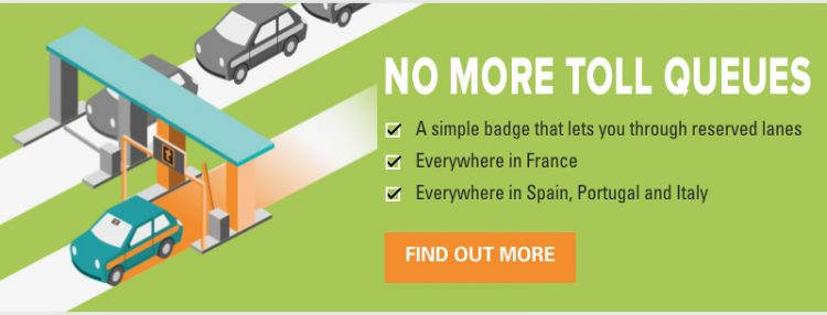 France Auto Toll Tag
