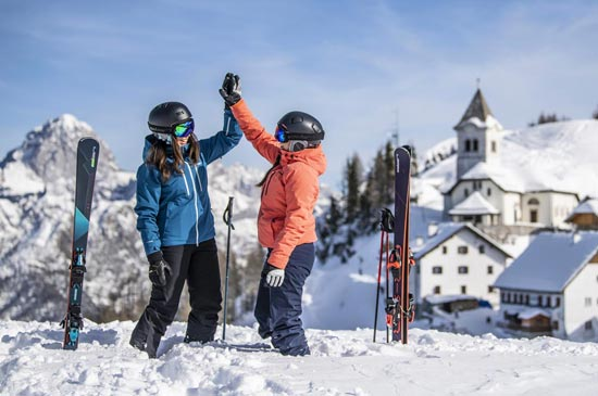 Weekend Group Ski Lessons in Megeve