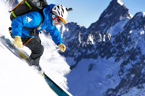 off piste skiing and snowboarding in Chamonix, Megeve, St Gervais, Les Contamines, & Flaine