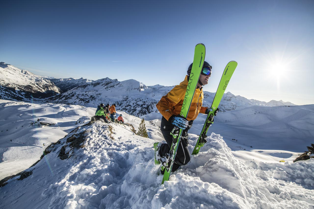 group ski lessons in St gervais, Chamonix, Megeve, Les Contamines