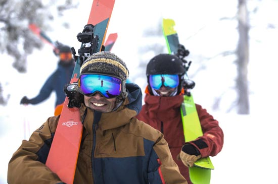 skiing courses, clinics, and coaching