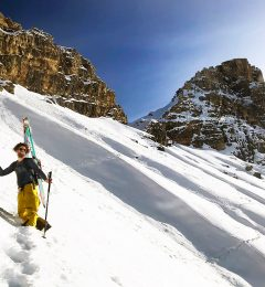 Skiing La Clusaz