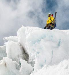 Off Piste Skiing Chamonix With Piotr