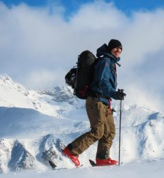 Guided Ski Touring With Jerry
