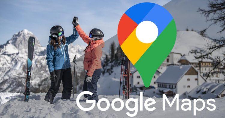 Ski School Meeting Points Map